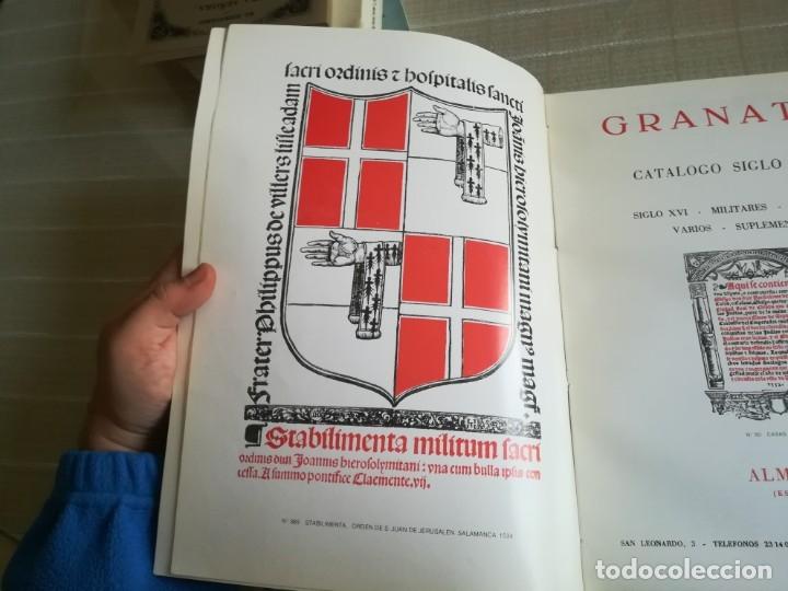 Libros: GRANATA: LIBROS ANTIGUOS CATALOGO SIGLO XVI - Foto 6 - 181555531