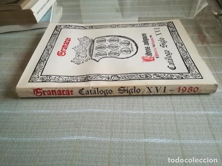 Libros: GRANATA: LIBROS ANTIGUOS CATALOGO SIGLO XVI - Foto 7 - 181555531