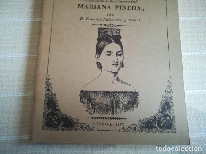 Libros: EL HEROÍSMO DE UNA SEÑORA DRAMA HISTÓRICO ORIGINAL DEDICADO MARIA PINEDA 1837 PORTUGAL FACSÍMIL 1981 - Foto 7 - 181556347