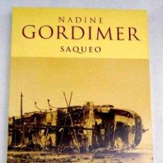 Libros: SAQUEO. Lote 181665446
