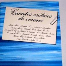 Libros: CUENTOS ERÓTICOS DE VERANO. Lote 199050507