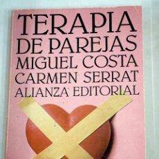 Libros: TERAPIA DE PAREJAS: UN ENFOQUE CONDUCTUAL. Lote 181869585