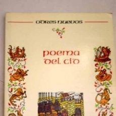 Libros: POEMA DEL CID. Lote 181915036