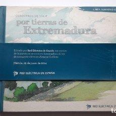 Libros: CUADERNOS DE VIAJES: POR TIERRAS EXTREMEÑAS. LÍNEA ALMARAZ-GUILLENA.. Lote 181965783