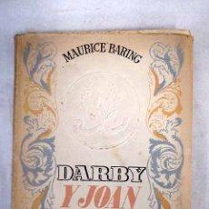 Libros: DARBY Y JOAN. Lote 181972880