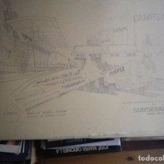 Libros: CAMPSA FACTORIAS E INSTALACIONES PORTUARIAS DE ESPAÑA JUNIO 1977 75 PAGINAS DE PLANOS . Lote 181977588