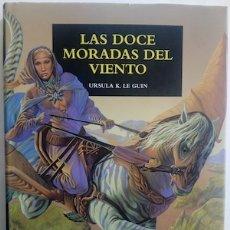 Libros: LAS DOCE MORADAS DEL VIENTO - URSULA K. LE GUIN. Lote 181995212
