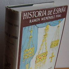 Libros: HISTORIA DE ESPAÑA. TOMO III. ESPAÑA VISIGODA (414-711 DE J.C.) - RAMÓN MENÉNDEZ PIDAL (DIRECCIÓN), . Lote 182229190