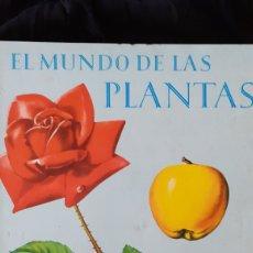 Libros: EL MUNDO DE LAS PLANTAS. TIMUN MAS.1965.. Lote 182267225