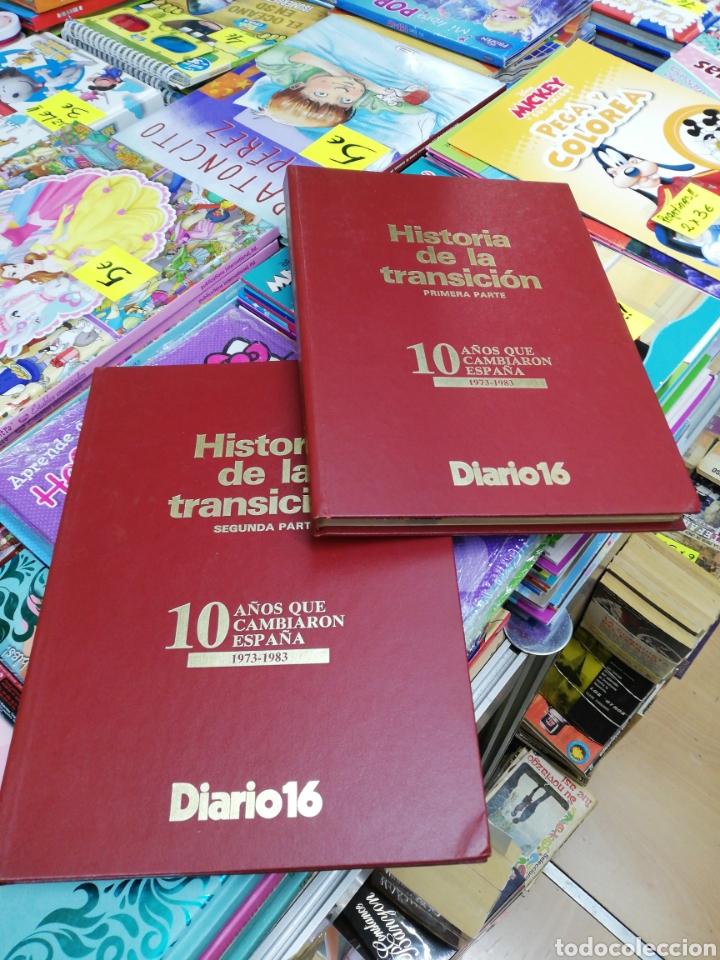 HISTORIA DE LA TRANSICIÓN 1RA Y 2DA PARTE DIARIO 16 (Libros sin clasificar)