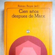 Livros em segunda mão: CIEN AÑOS DESPUÉS DE MARX: CIENCIA Y MARXISMO. Lote 182442363