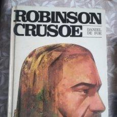 Libros: ROBINSON CRUSOE DANIEL DE FOE. Lote 182576350