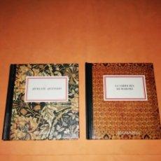Libros: LA SABIDURIA DE MAHOMA & BURLATE QUEVEDO. DOS LIBRITOS DE CITAS CON ILUSTRACIONES. AGUAMARINA.. Lote 182605083