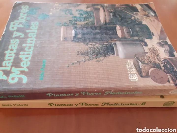 Libros: ALDO POLETTI : PLANTAS Y FLORES MEDICINALES - DOS TOMOS (PARRAMON, 1982 - Foto 2 - 182644797
