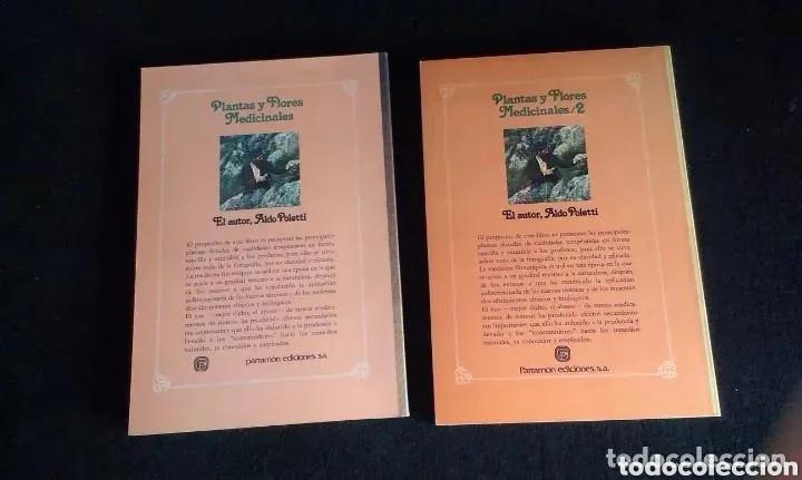 Libros: ALDO POLETTI : PLANTAS Y FLORES MEDICINALES - DOS TOMOS (PARRAMON, 1982 - Foto 8 - 182644797
