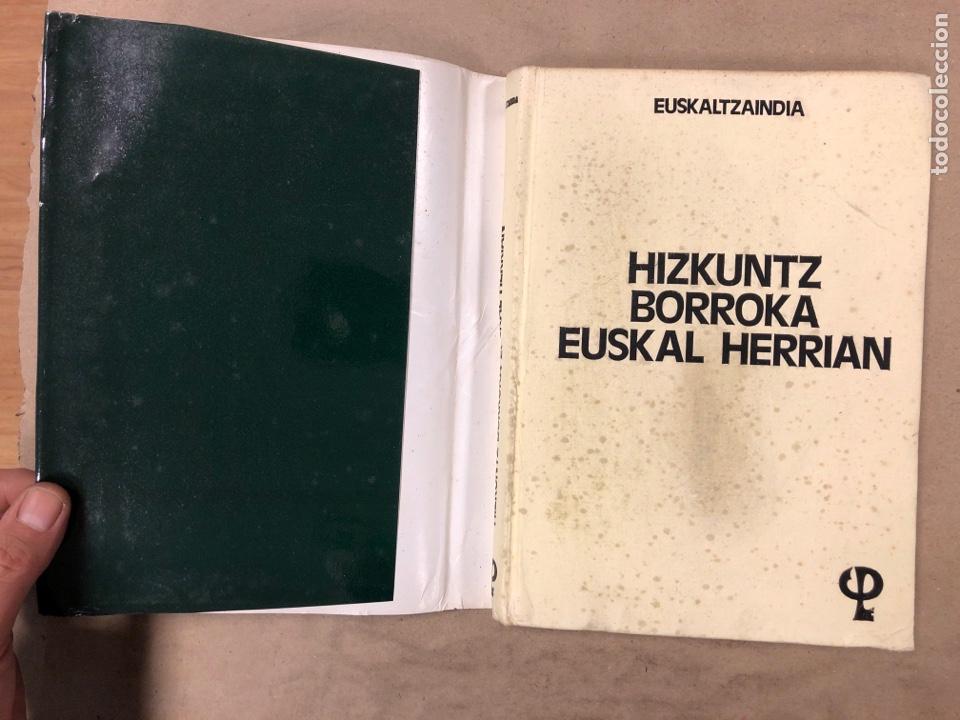 Libros: HIZKUNTZ BORROKA EUSKAL HERRIAN. EUZKALTZAINDIA 1979. - Foto 2 - 182646318