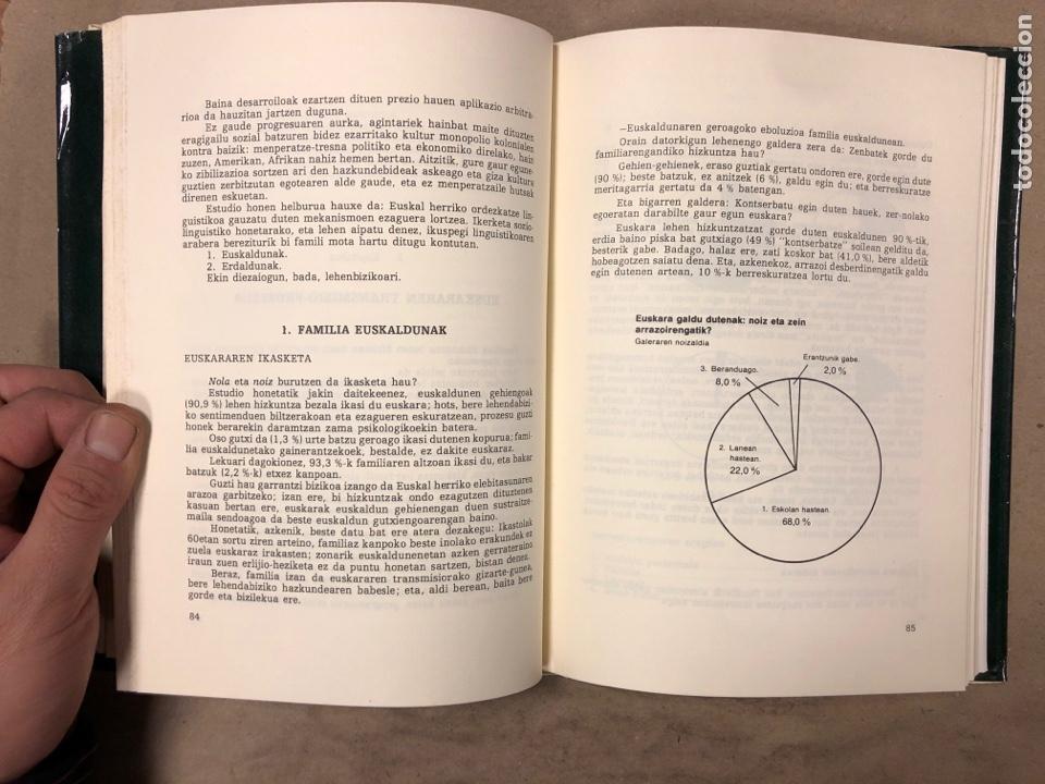 Libros: HIZKUNTZ BORROKA EUSKAL HERRIAN. EUZKALTZAINDIA 1979. - Foto 5 - 182646318