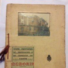 Libros: JUNTA PROVINCIAL DE PROTECCION A LA INFANCIA DE VIZCAYA -MEMORIA 1922-1926-ED.1927. Lote 182697701
