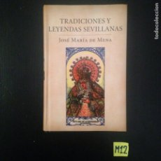 Libros: TRADICIONES LEYENDA SEVILLANAS. Lote 182789500