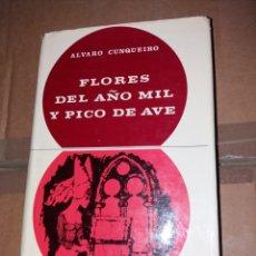 Libros: FLORES DEL AÑO MIL Y PICO DE AVE - ÁLVARO CUNQUEIRO. Lote 182851521