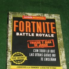 Libros: FORTNITE BATTLE ROYALE - TRUCOS Y GUÍA DE JUEGO, DE JASON RICH 2019. Lote 182980183