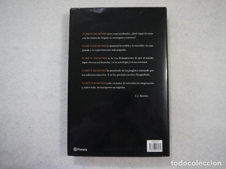 Libros: PLANETA ENCANTADO. LA HUELLA DE LOS DIOSES Y LA ISLA DEL FIN DEL MUNDO - J. J. BENITEZ - PLANETA - Foto 2 - 182990221