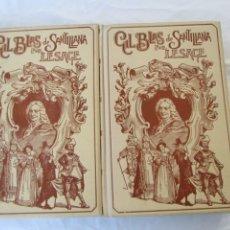 Libros: GIL BLAS DE SANTILLANA - LESAGE - TOMO I Y II - MONTANER Y SIMÓN EDITORES 1900. ILUSTRADO.. Lote 183037692
