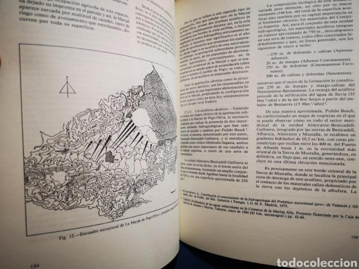 Libros: Alicante - Humedales y areas lacuestres de la provincia de Alicante - Margarita Box Amoros - 1987 - Foto 2 - 183040641