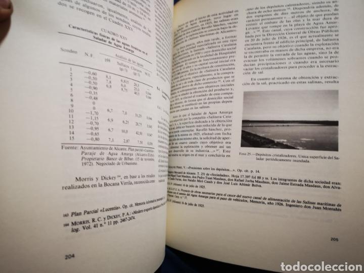 Libros: Alicante - Humedales y areas lacuestres de la provincia de Alicante - Margarita Box Amoros - 1987 - Foto 3 - 183040641