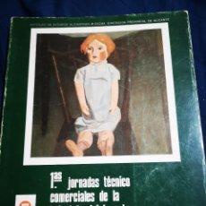 Libros: PRIMERAS JORNADAS TÉCNICO COMERCIALES DE LA INDUSTRIA DEL JUGUETE, PONENCIAS. ALICANTE. Lote 183041676