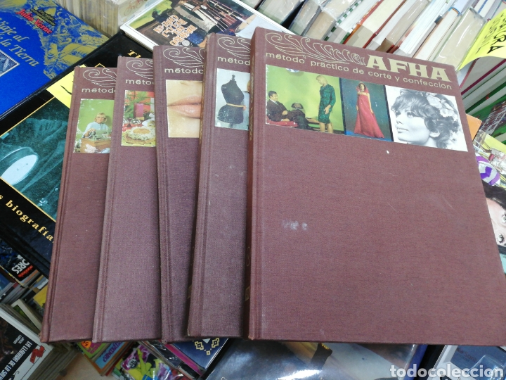 AFHA, MÉTODOS DE CORTE Y CONFECCIÓN(5 TOMOS) (Libros sin clasificar)