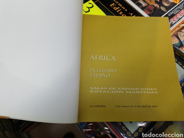 Libros: Africa, el legado eterno, sala de exposiciones estación marítima, la Coruña - Foto 2 - 183191148