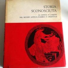 Libros: STORIA SCONOSCIUTA PROSTITUZIONE MONDO ANTICO CLASSICO ORIENTALE F. HENRIQUES PROSTITUCIÓN 1966. Lote 183264358