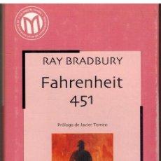 Libros: FAHRENHEIT 451 - RAY BRADBURY. Lote 183476253