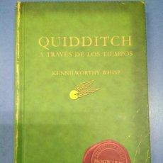 Libros: QUIDDITCH A TRAVÉS DE LOS TIEMPOS. KENNILWORTHY WHISP. COMIC RELIEF SALAMANDRA 2001. Lote 183476962