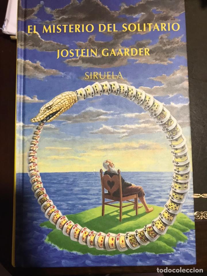 EL MISTERIO DEL SOLITARIO JOSTEIN GAARDER (Libros Nuevos - Literatura - Narrativa - Aventuras)
