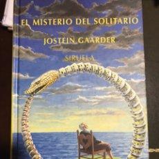 Libros: EL MISTERIO DEL SOLITARIO JOSTEIN GAARDER. Lote 183613477