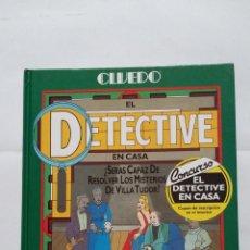 Libros: CLUEDO. EL DETECTIVE EN CASA. LAWRENCE TREAT. GEORGE HARDIE. TDK407. Lote 183625842