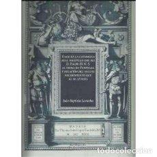 Livres: VIAJE DE LA CATHOLICA REAL MAGESTAD DEL REI D. FILIPE III N. S AL REINO DE PORTUGAL Y RELACIÓN DEL S. Lote 167412693