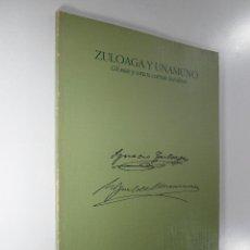 Libros: ZULOAGA Y UNAMUNO GLOSAS Y UNAS CARTAS INÉDITAS - IGNACIO TELLECHEA IDÍGORAS. Lote 183666037