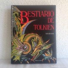 Libros: BESTIARIO DE TOLKIEN, TIMUN MAS 1989 - IMPECABLE. Lote 183732658