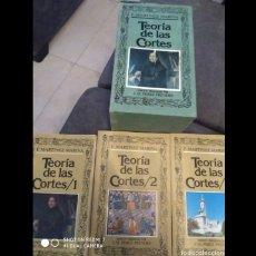Libros: LA TEORIA DE LAS CORTES. Lote 183822568