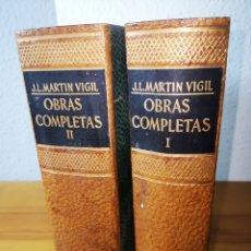 Libros: J. L. MARTÍN VIGIL, OBRAS COMPLETAS I Y II, EDITORIAL JUVENTUD, 1964. Lote 183944590