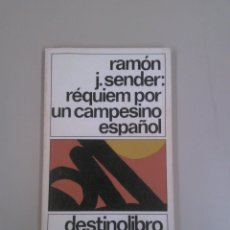 Libros: RÉQUIEM POR UN CAMPESINO ESPAÑOL. Lote 183964400