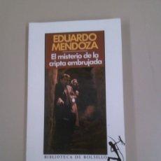 Libros: EL MISTERIO DE LA CRIPTA EMBRUJADA. Lote 183964408