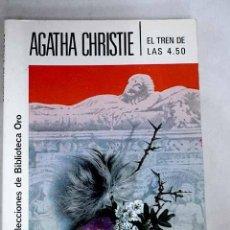 Libros: EL TREN DE LAS 4,50. Lote 199003592