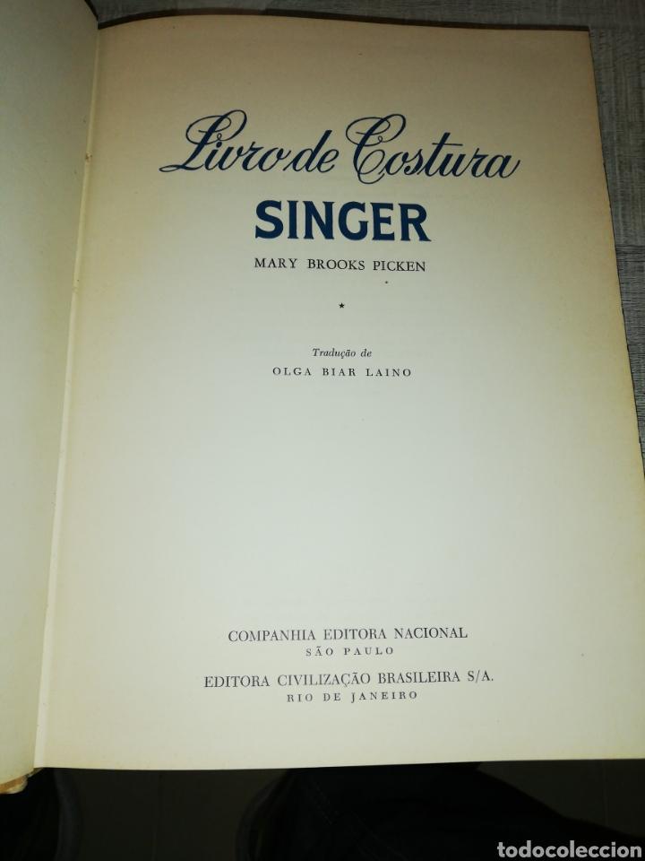 Libros: Livro de costura singer, companhia editora nacional - Foto 2 - 184028526