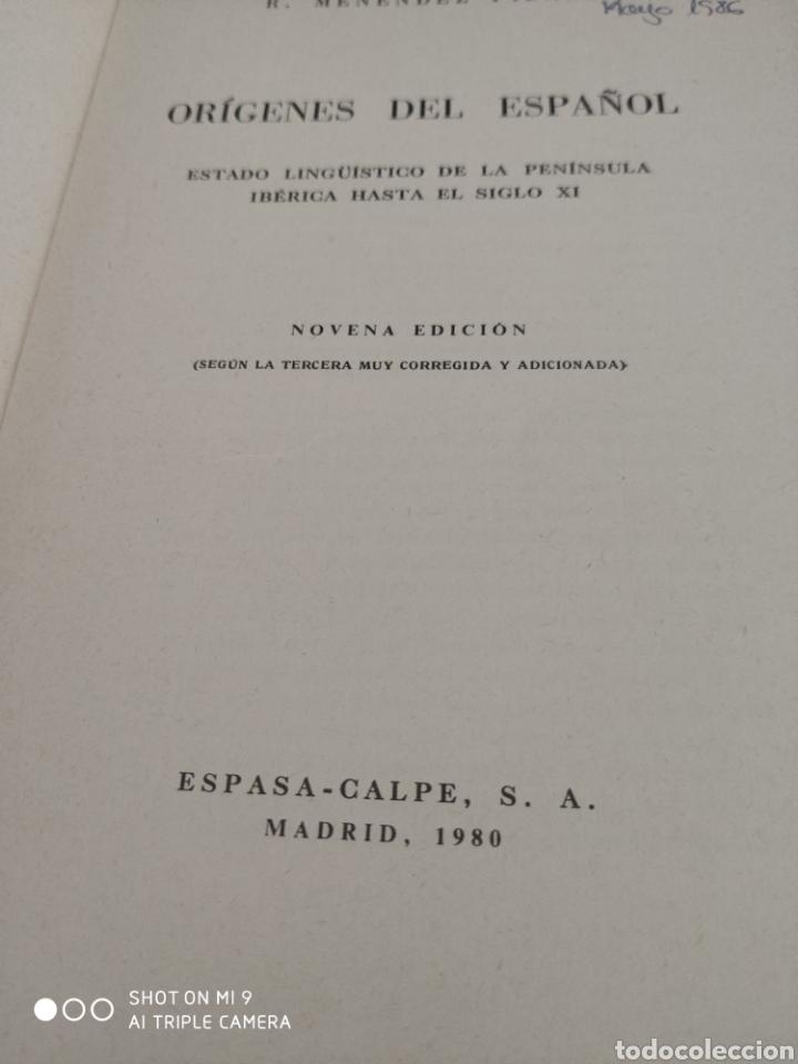 Libros: Orígenes del español - Foto 3 - 184193553