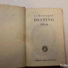 Libros: ALMANAQUE DESTINO 1944, 21,50X15 CM. Lote 184340781