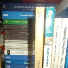 Libros: LOTE 7 LIBROS DE ISAAC ASIMOV A TU ELECCIÓN. Lote 184586548